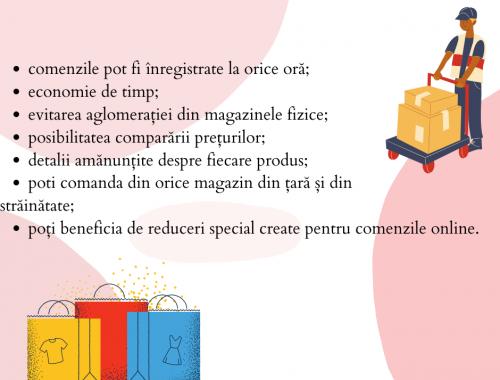 Avantajel cumpărăturilor online (1)